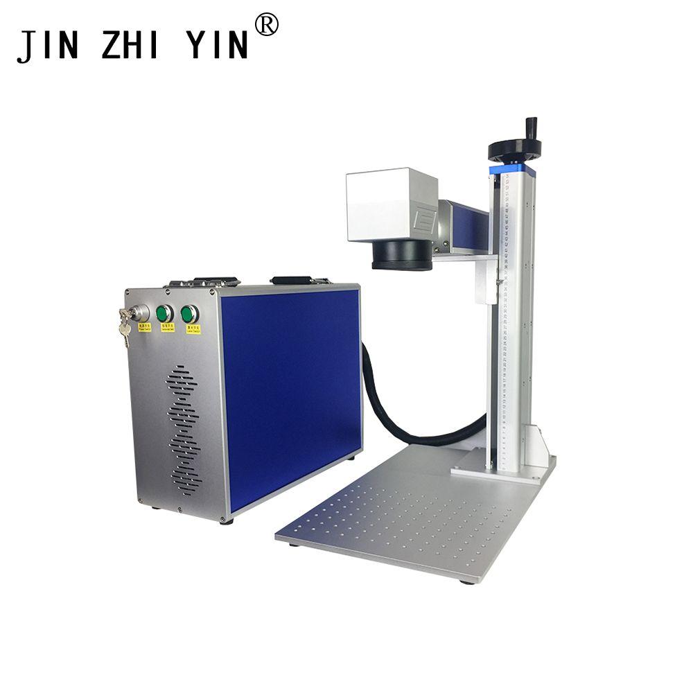 Fabrik preis 20 W 30 W fiber laser metall kennzeichnung maschine verwendet für aluminium gold silber messing gravur für verkauf