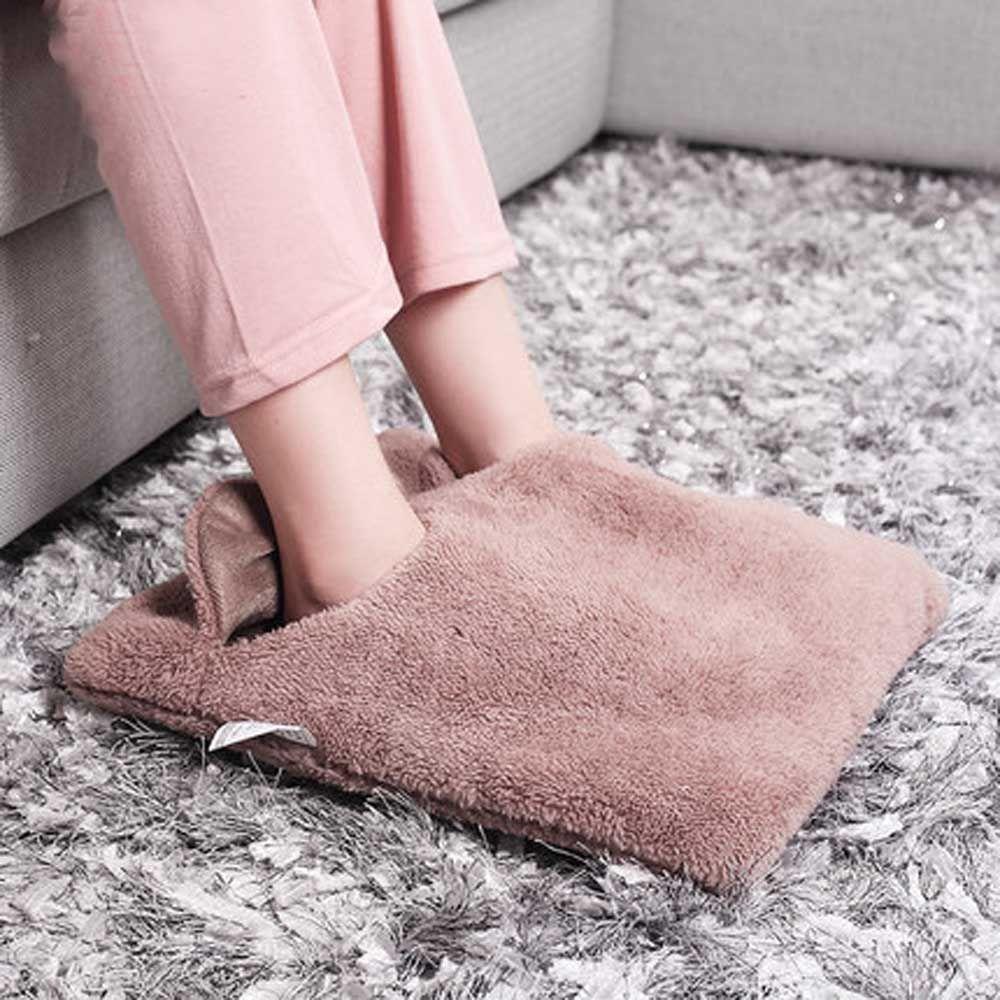 Ноги руки теплее грелку Шлёпанцы для женщин диван-кресло теплая подушка электрические грелки теплая обувь зимние теплые электрическое оде...