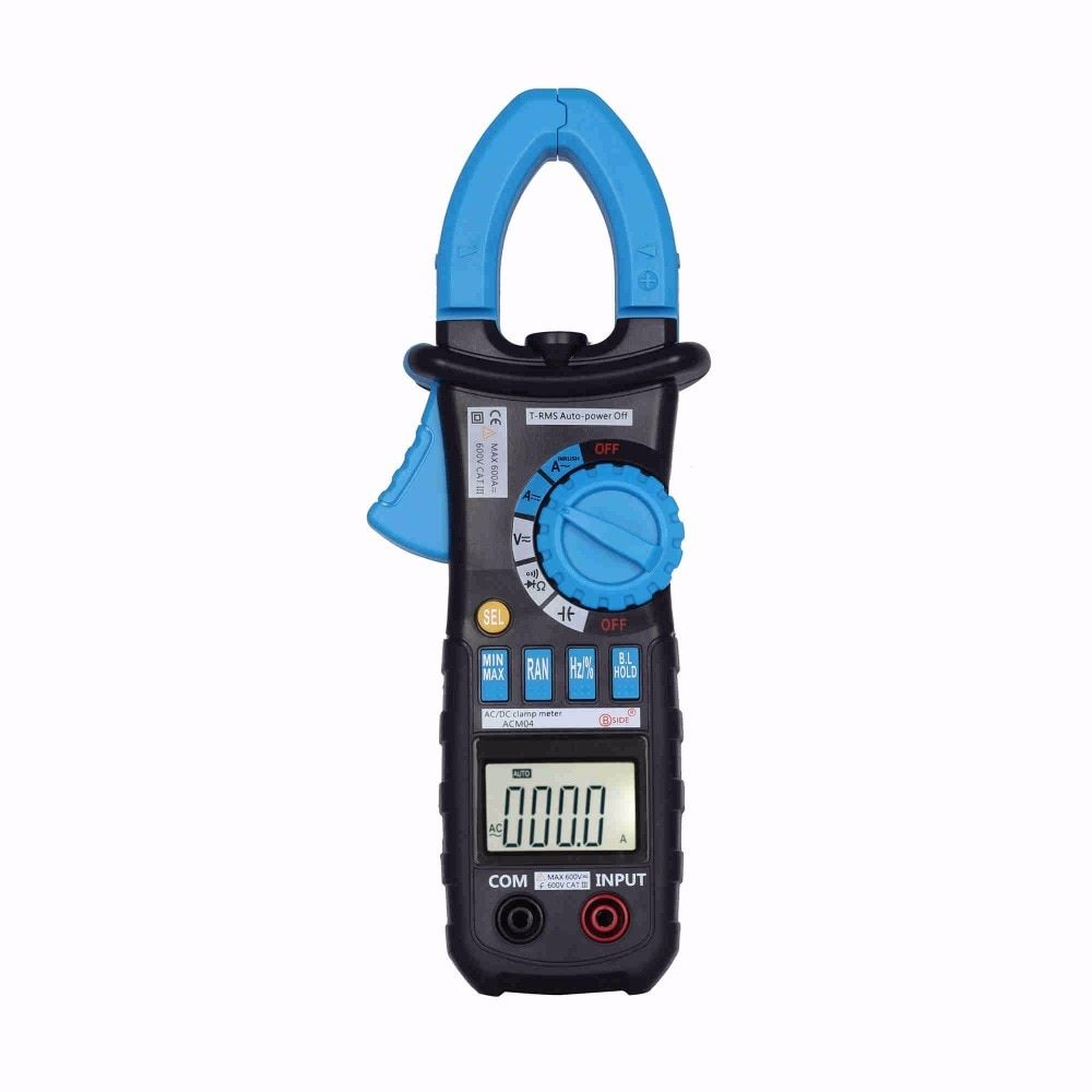 Digital Clamp Meter True RMS LCD Multimeter AC DC Voltmeter Ammeter Ohm Herz. Duty Cycle Multi Tester BSIDE ACM04 With M2108S