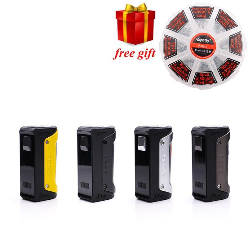 Freies geschenk!!! Geekvape AEGIS 100 Watt TC Box Mod wasserdicht stoßfest und staubdicht 100 watt vape box mod fit 18650/26650/20700 batterie