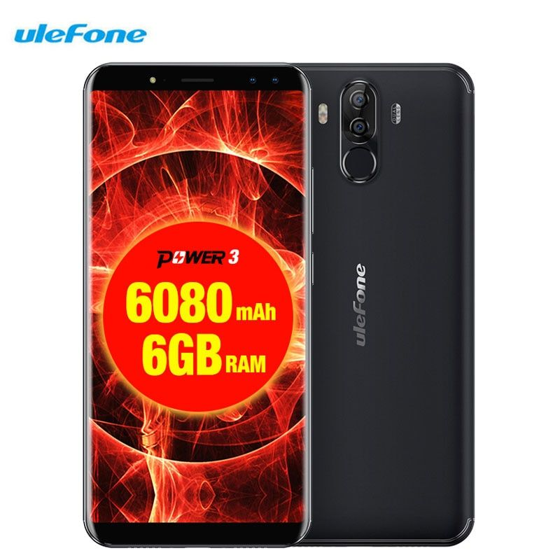 Ulefone Power 3 Facial ID 6.0