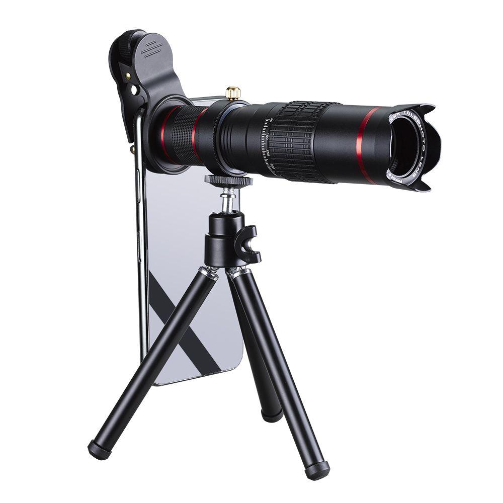 22X Camera Lens Kit Macro Lentes Celular Large Angle de Téléphone Cellulaire Caméra Lentilles Pour iPhone Android IOS Mobile Téléphones comprimés