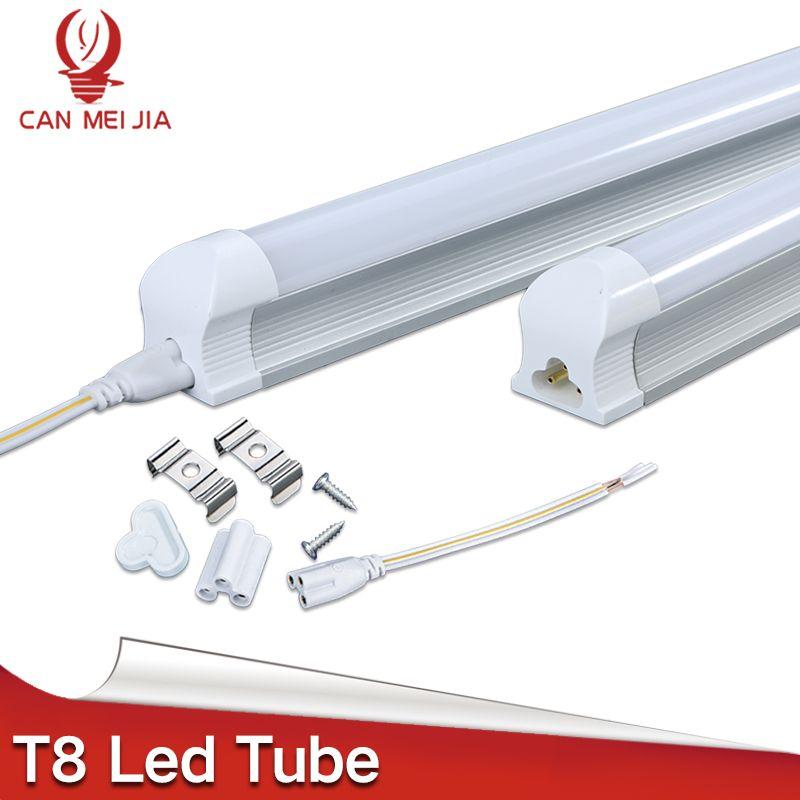 Super Bright Power Led T8 Tube Integrated Light 600mm 60cm 1200mm Led Tube Lamp 2FT 3FT 4FT 9W 10W 13W 220V For indoor Lighting