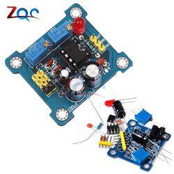 NE555 Générateur D'impulsions Pulse Starter Duty Cycle et Module Réglable en Fréquence DIY Kit Oscillateur Onde Carrée Signal Générateur