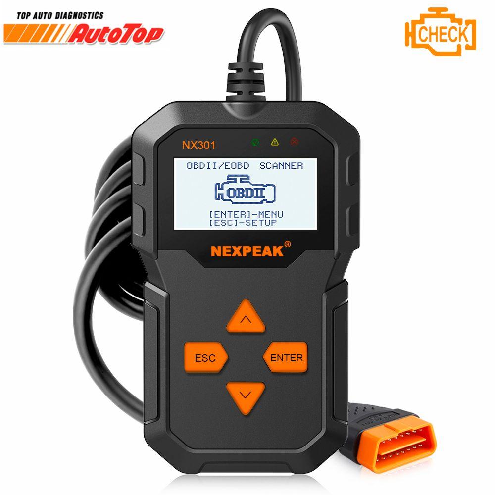 OBD 2 Automotive Scanner Multi-languages Universal OBD2 Auto Diagnostic Scanner Full OBD Modes Scan Tools Diagnostic Car ODB2