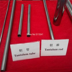 Astm B521 Ta10W тантал бесшовные трубы, трубы тантала, танталовые трубки
