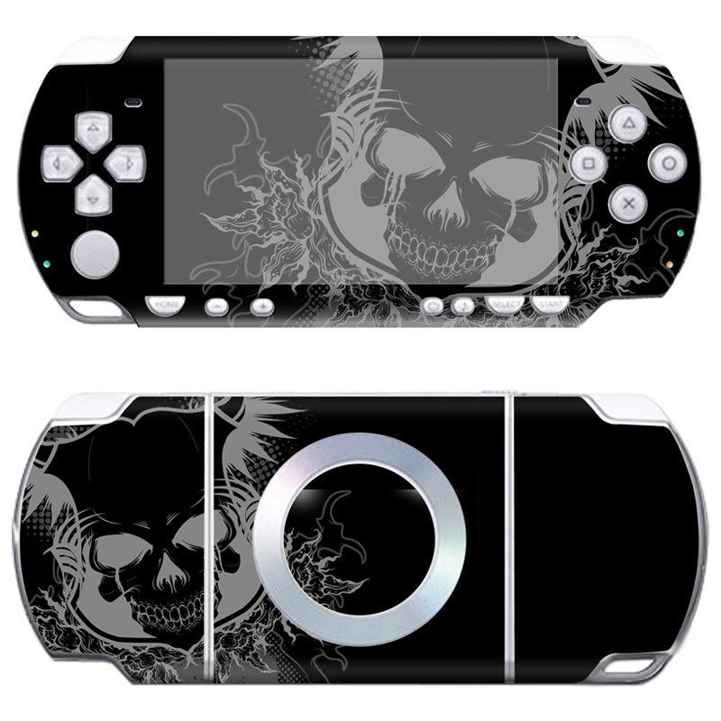 Freier tropfen-verschiffen Vinyl Aufkleber Schützende Haut Abdeckung Aufkleber für Sony PSP 2000 # TN-PP2000-714