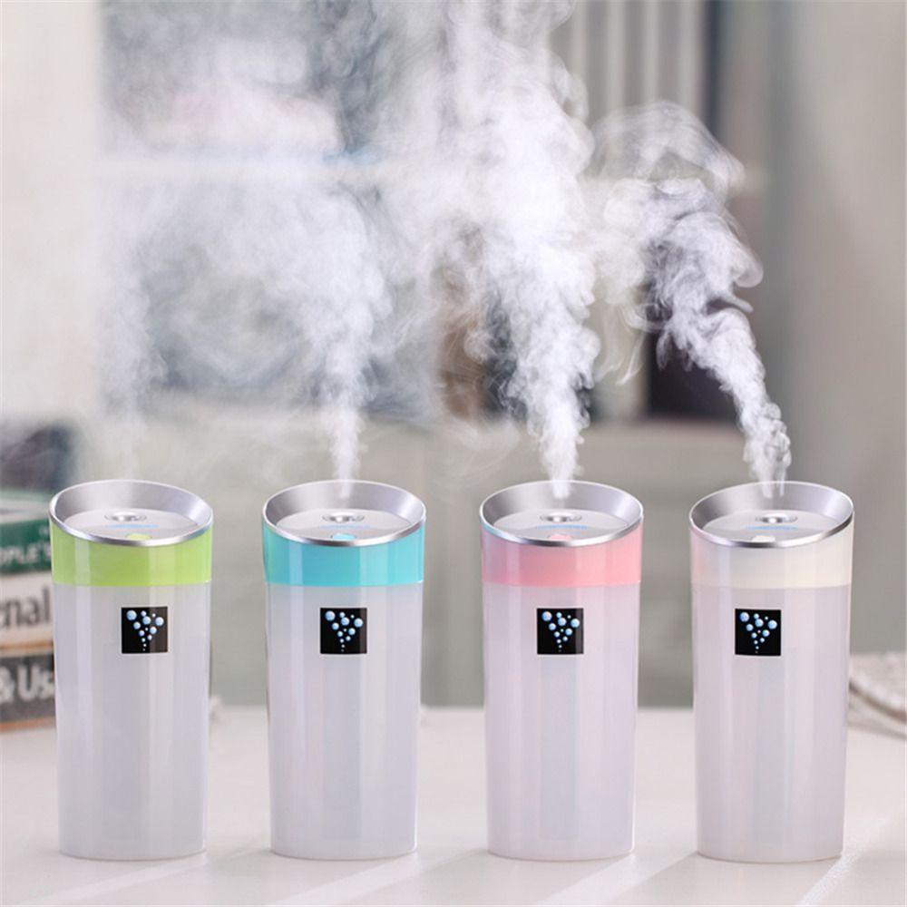 300ML Car Humidifier Air Purifier USB  Essential Oil diffuser Air Ultrasonic Freshener Auto Home Aroma diffuser mist maker