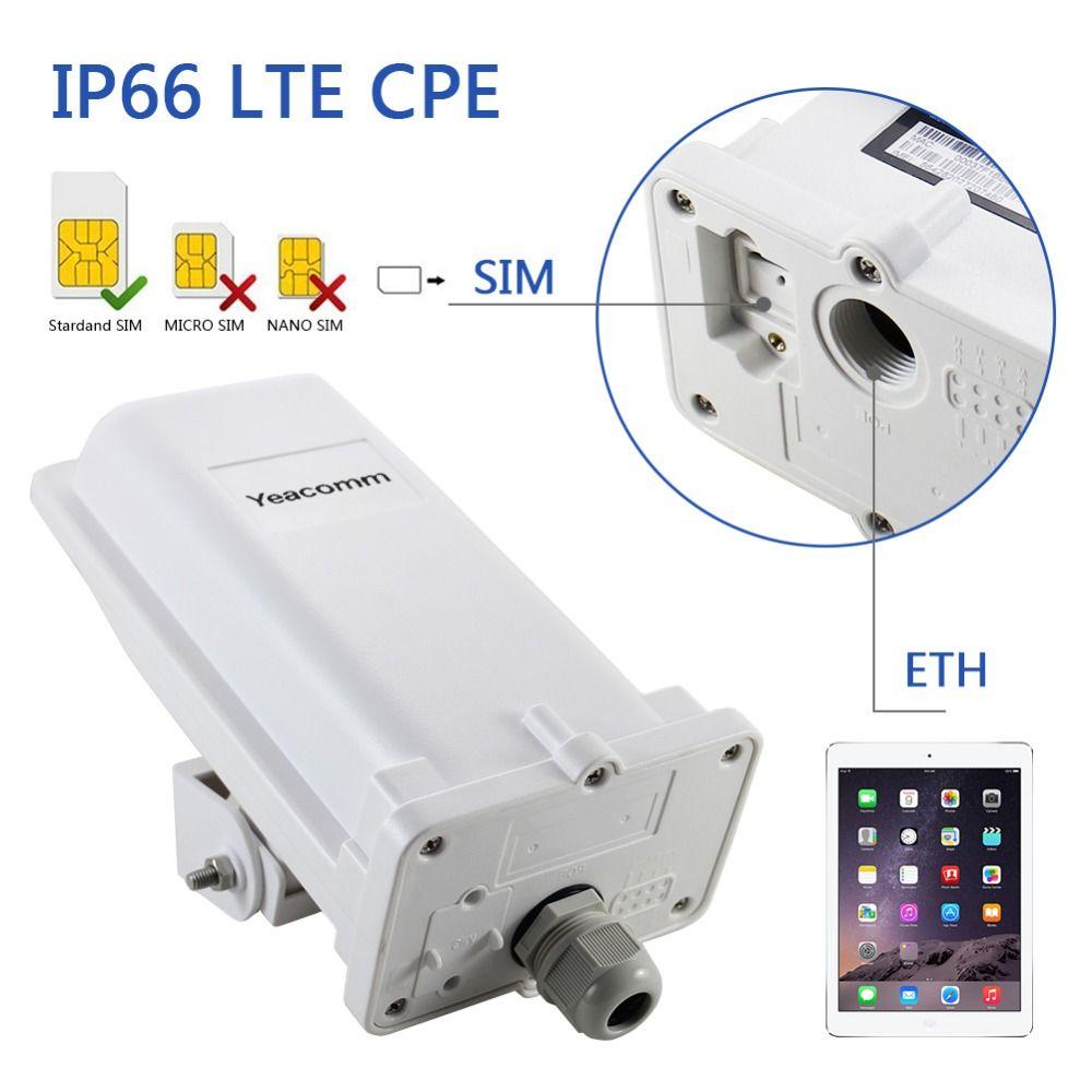 YF-P11 industrielle wasserdichte outdoor CPE 4g LTE cat4 150 mt CPE TDD FDD router ohne wifi