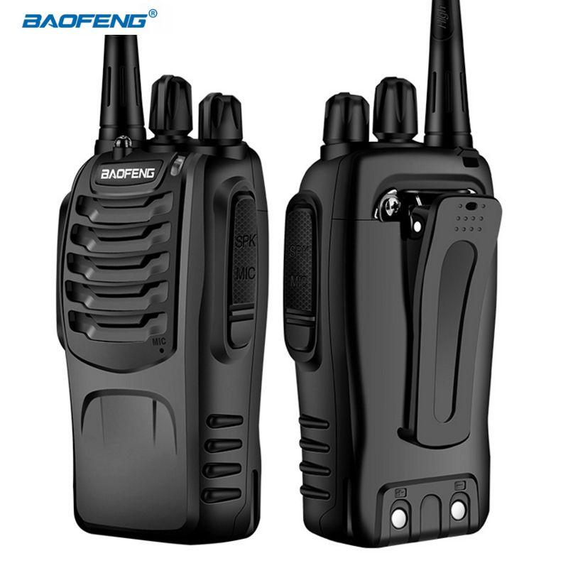 BAOFENG BF-888S Walkie Talkie 5W Handheld Two Way Radio bf 888s UHF 400-470MHz Portable CB Radio Ham Transceiver Communicator