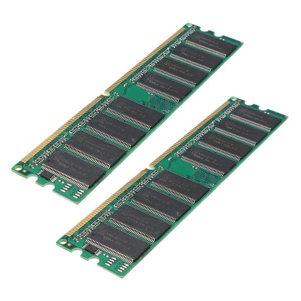 2x1 GB pc3200 ECC DDR 400 MHz Hohe Dichte SPEICHER 184-pin DIMM RAM