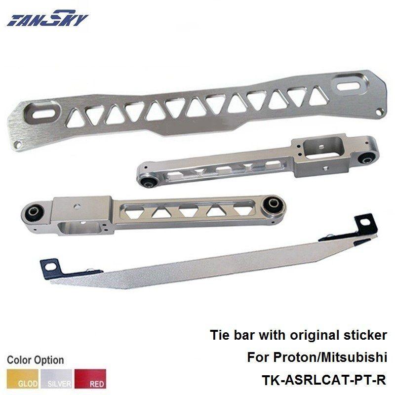 TANSKY- Rear Subframe Brace Tie Bar silver For 1997-2001 Mitsubishi Mirage TK-ASRLCAT-PT-R