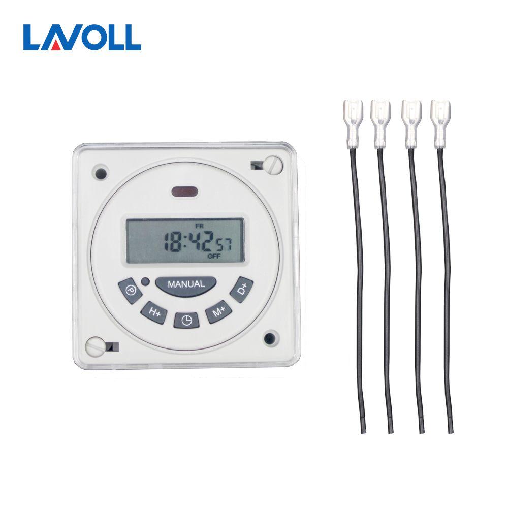 Interrupteur temporizador programmable temps minuterie interrupteur relais lumière minuterie programmable relais rail din minuterie minuterie ac