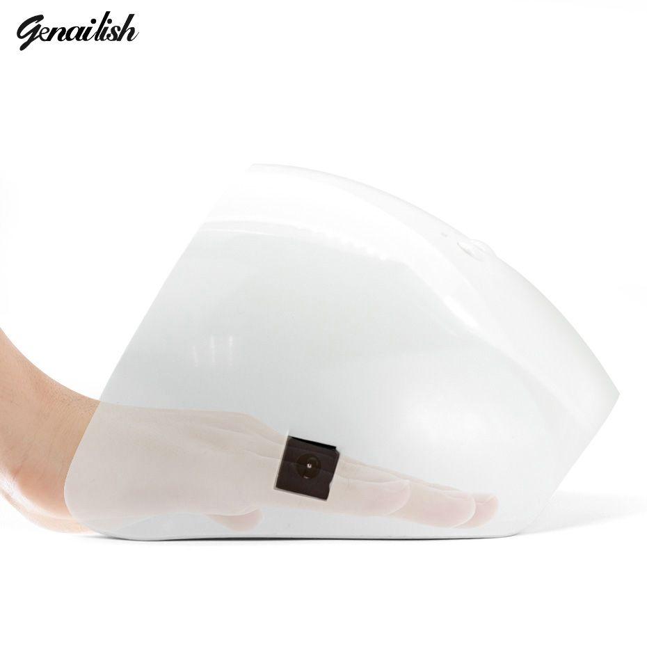 Genailish UV Lampe LED Lampe 36 W Nail Lampe Nail Sèche-Diamant en forme de Blanc Lumière Durcissement pour UV Gel Ongles Vernis À Ongles Art outils