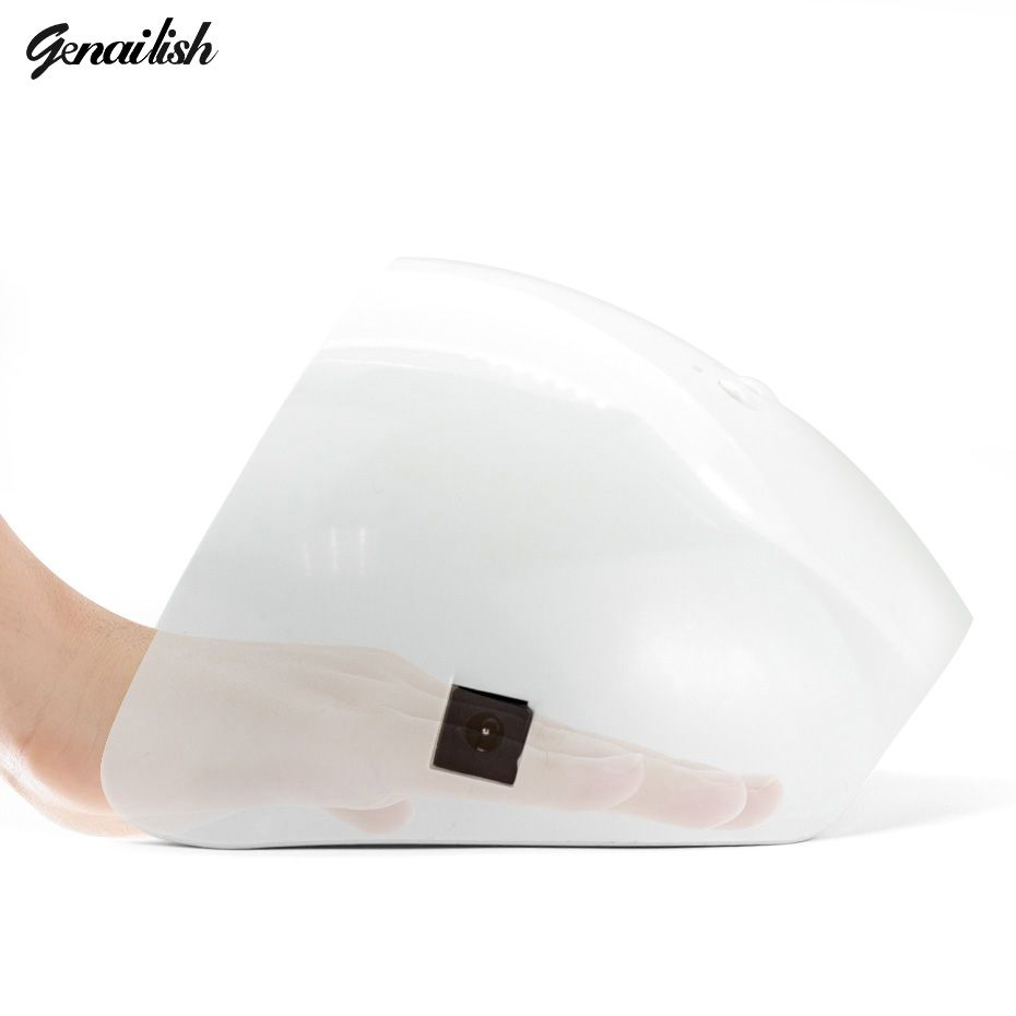 genailish UV Lamp LED Lamp 36W Nail Lamp 18Leds Nail Dryer White <font><b>Light</b></font> Curing for UV Gel Nails Polish Nail Art Tools