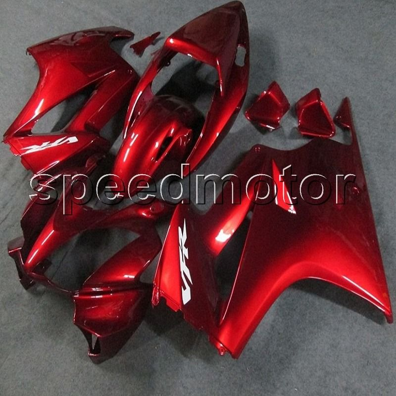 Custom+ Screws+NEW Injection mold article VFR800 02-12 RED motorcycle cover VFR 800 2002 2012 ABS fairing for Honda