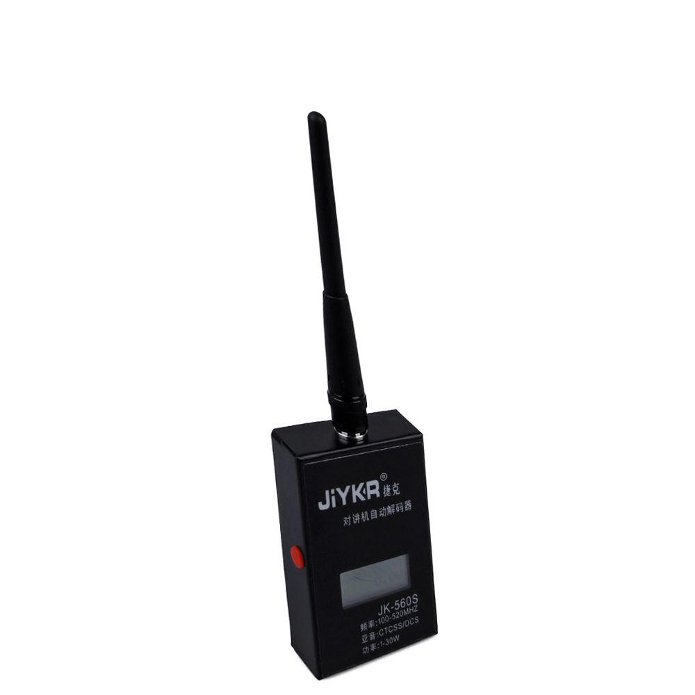 Compteur de fréquence JK560S pour décodeur talkie-walkie Baofeng 1-30 w 100-520 mhz CTCSS/DCS SMA-compteur de fréquence d'antenne femelle