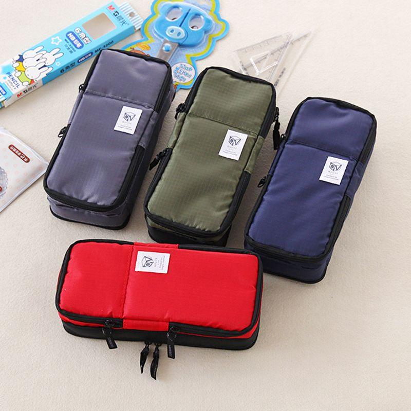 Corée multifonction école porte-crayon et sacs pour garçons et filles grande capacité stylo rideau boîte enfants cadeau papeterie fournitures
