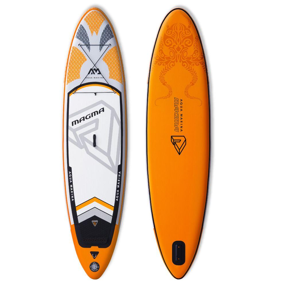 Aqua marina Magma aufblasbare SUP Stand up Paddle Board alle um aufblasbare paddle board für die erforschung