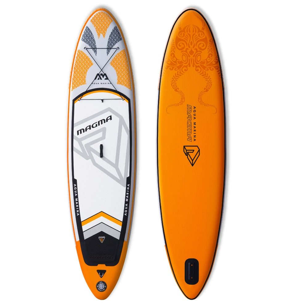 Aqua marina Magma inflatable SUP Stand up Paddle Board all around inflatable paddle board for exploring