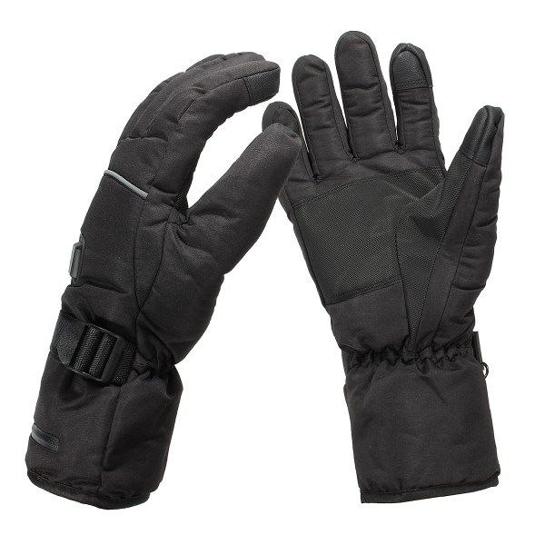NEW Safurance Unisex Waterproof Heated Gloves Battery Powered Motorcycle Hunting Winter Warmer Workplace Safety