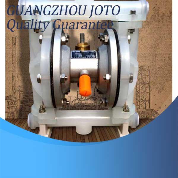 QBY-15 Résistant À La Corrosion Double Voie Pneumatique Pompe À Membrane 0-1m3/H