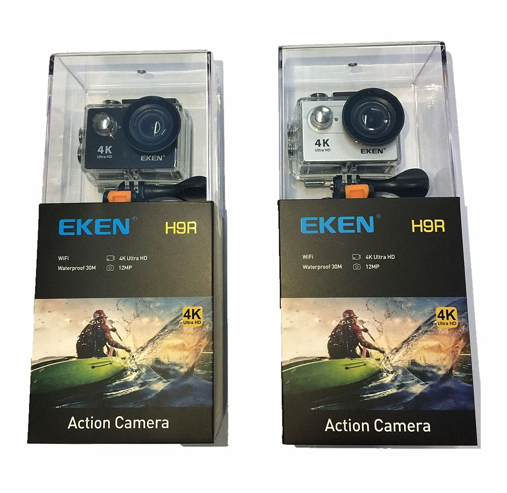 EKEN H9 H9R Original Action camera Ultra HD 4K 25fps 1080P 60fps WiFi 2 170D go Mini <font><b>underwater</b></font> waterproof Pro Helmet Sport cam