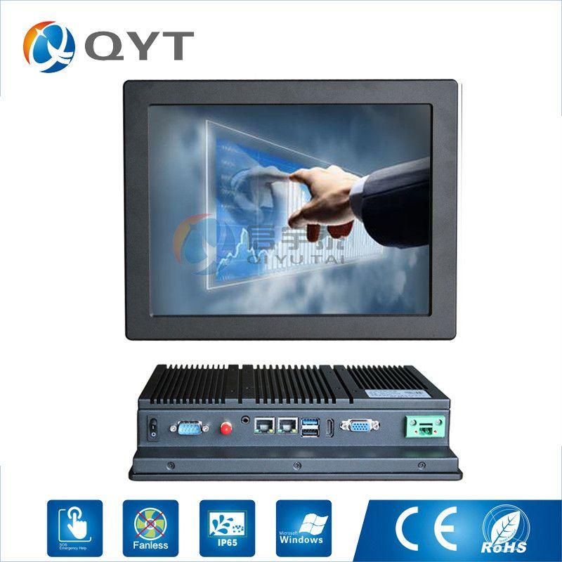 Industrie pc Intel j1900 2,0 ghz mit 2LAN/4USB2. 0 10 touchscreen embedded panel pc 2 gb RAM 32g SSD Auflösung 800x600