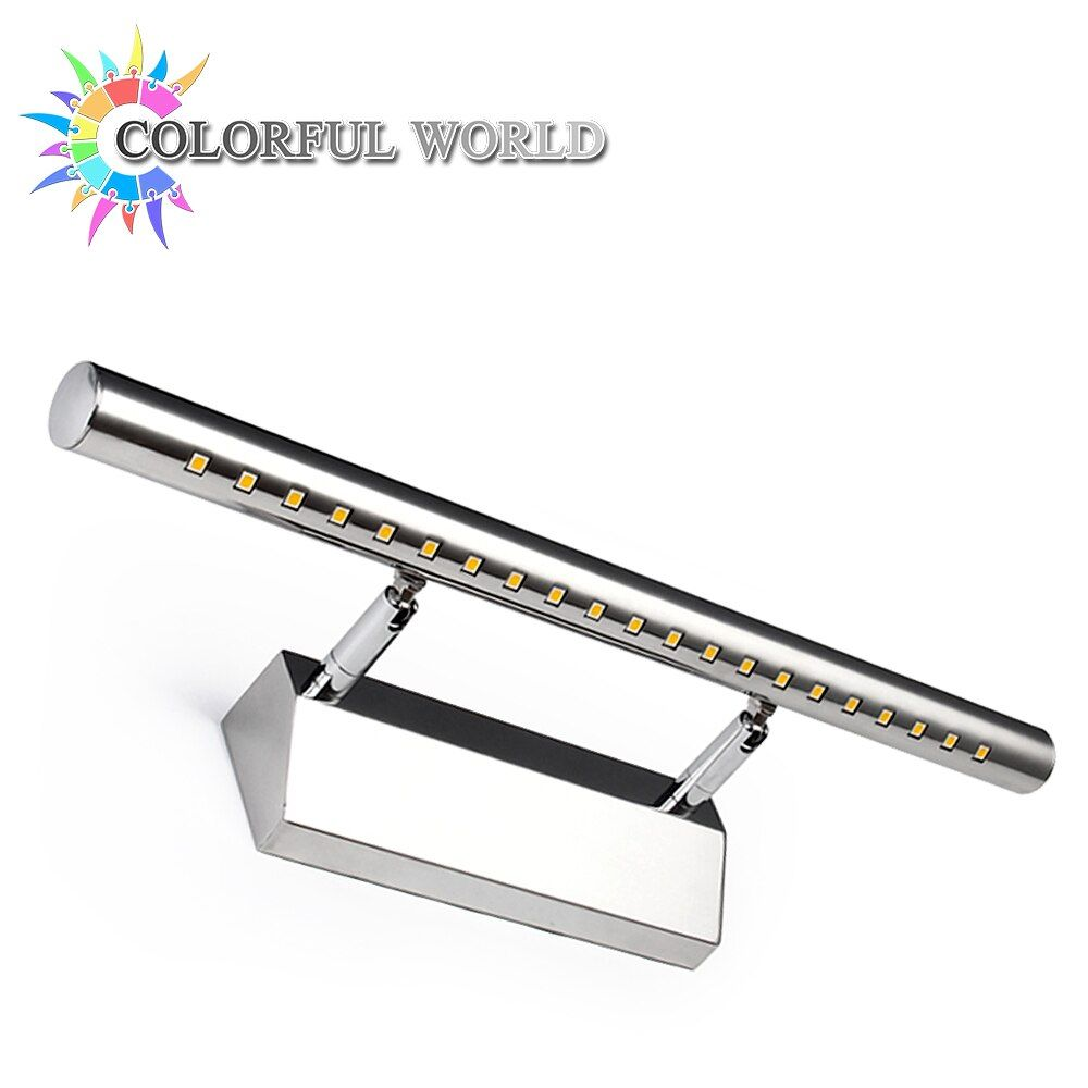 3W 5W 7W Bathroom LED Mirror Light AC220V/110V SMD5050 Mini Style LED Wall Lamps with Switch Indoor Wall Lamp