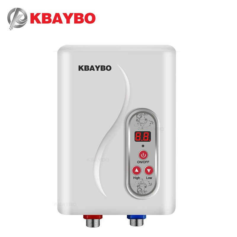 7000W Instantaneous Water Heater <font><b>Instant</b></font> Electric Tankless Water Heater <font><b>Instant</b></font> Electric Water Heating Shower 3 seconds hot