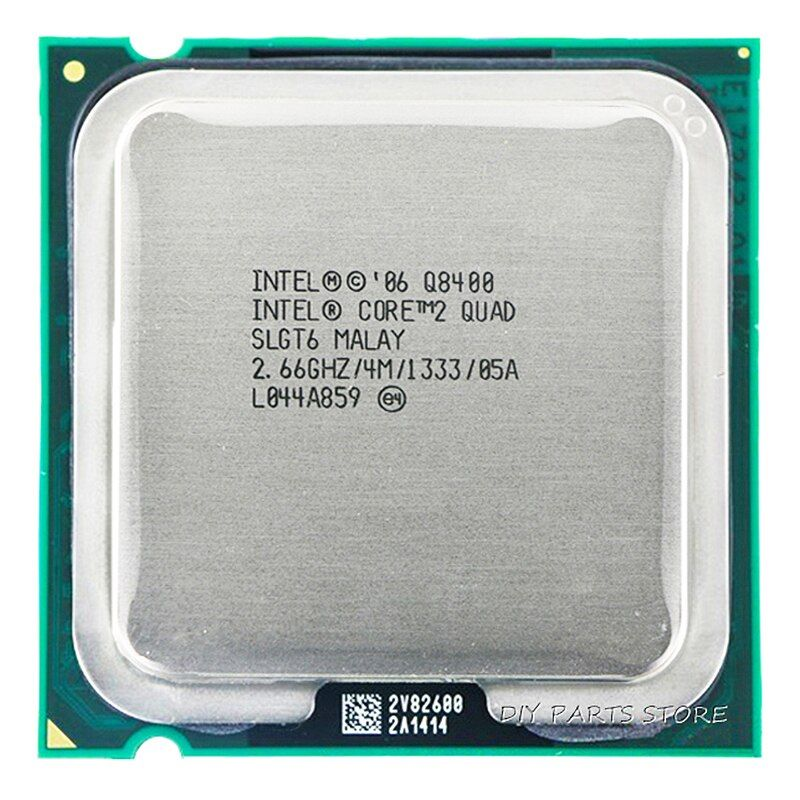 4 Intel Core 2 quda q8400 Процессор Processor 2.66 ГГц/4 м/1333 ГГц) socket 775