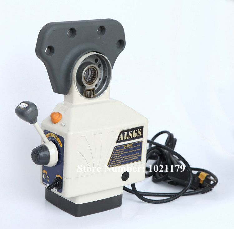 AL-510S Power Feed 650in-lb 200RPM AC220V / 110V Power Table Feed Larger Torque Milling Machine X Y Z axis Automatic Feeder