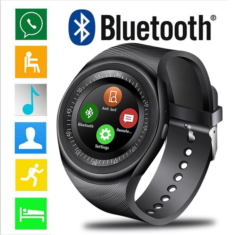 Waterproof Fashion Smart Watch Men Sports Pedometer Blood Pressure Monitoring Smart Watch Information Reminder Reloj inteligente