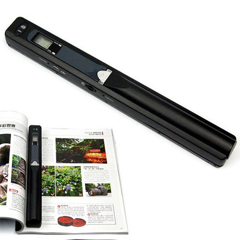 Tragbare 900 DPI Handyscan scanner JPG/PDF Formiat A4 Dokument Buch Iscan handscanner Mini Schnurlose A4 Scan