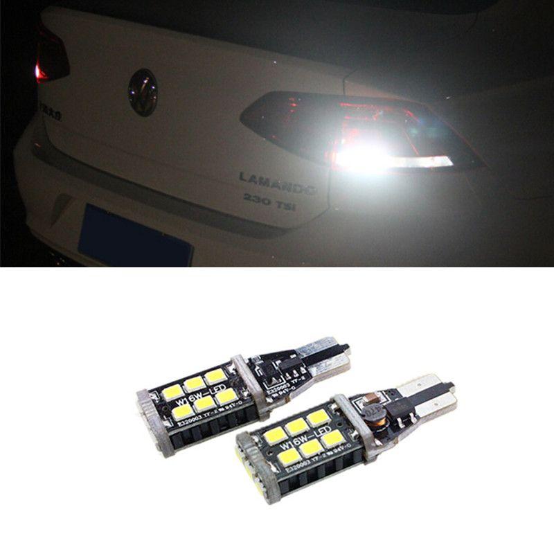 2x FÜR VW Passat B7 Canbus kein fehler unterstützungshelle rücklampe T15 W16W FÜHRTE 3535 Chip High Power