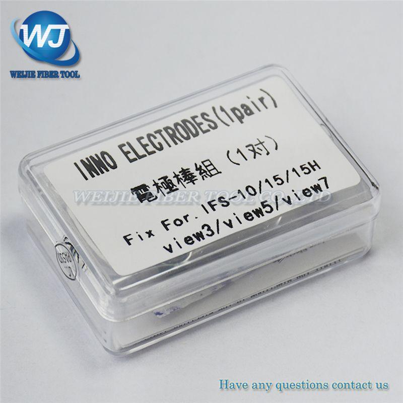 Free shipping Electrodes INNO ifs15 ifs-15a ifs-15h ifs-10 view3 view5 view7 Fusion Splicer Electrodes