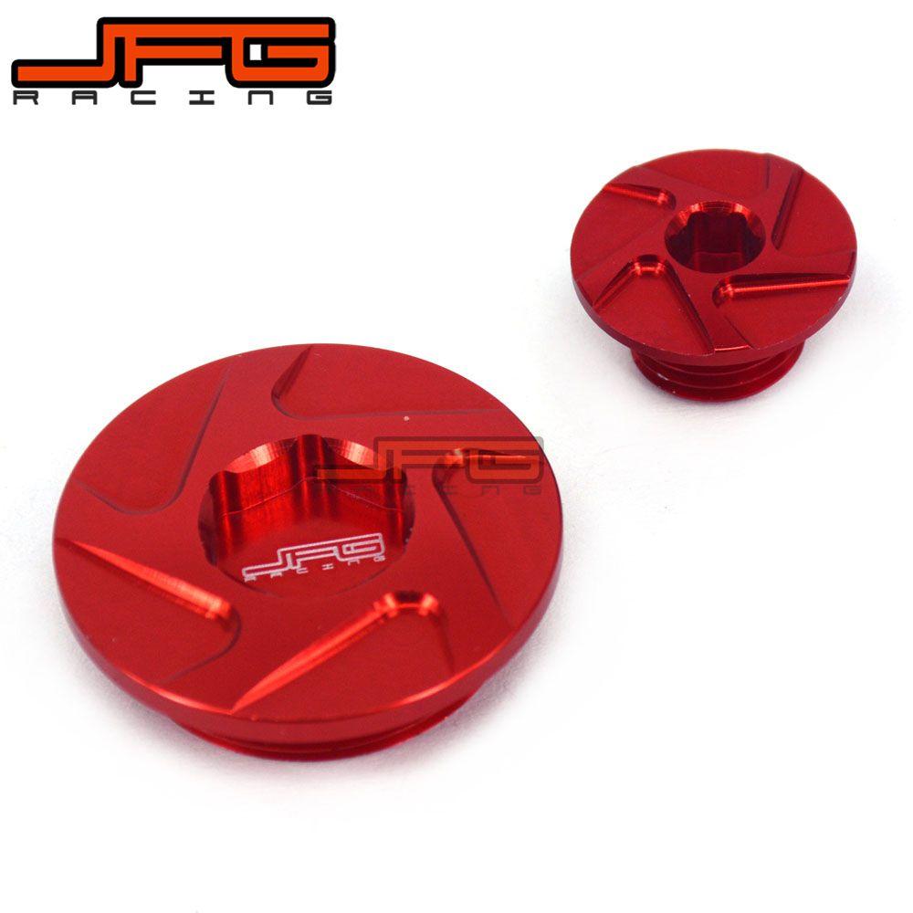 CNC Billet Engine Timing Plug Set For CRF150R CRF250R CRF450R CRF450X XR250 Baja Motard XR400 Motard  TRX400EX TRX450R TRX450ER