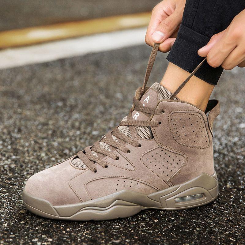 Баскетбольная обувь для мужчин воздушной подушке корзина Homme мужской спортивная обувь мужчины 2018 Роскошная брендовая дышащая обувь со шнур...