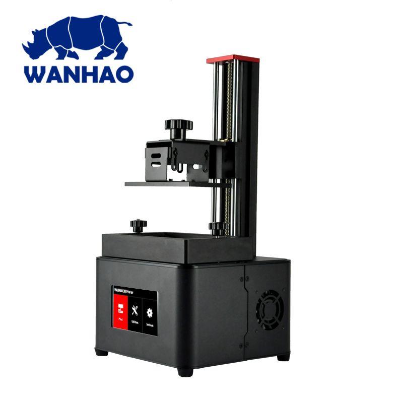 2018 WANHAO neue DLP 3d drucker D7 PLUS harz drucker volle montiert mit nanopie innen mit freies harz FEP film als geschenk