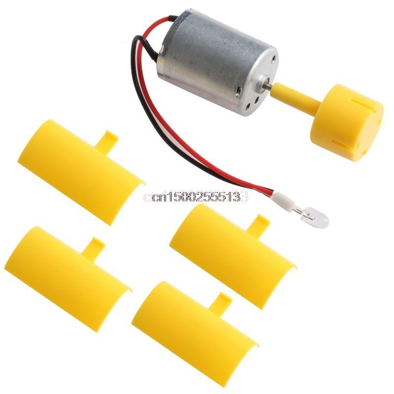 Mini Windturbinenschaufel Vertikale Achse Micro Generator Klingen Kleine Set gerador de energia