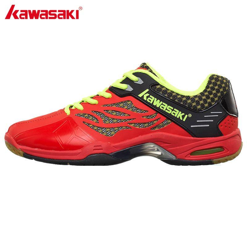 Kawasaki herren Professionelle Badminton Schuhe Dämpfung Atmungsaktive Anti Torsion verschleißfesten Sport Turnschuhe K-517