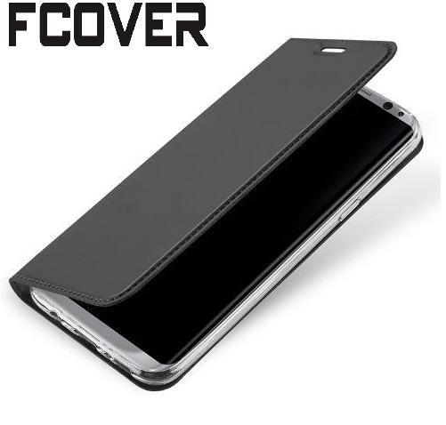 Luxe style Book Étui En Cuir Pour Samsung Galaxy S7 bord Magnétique Portefeuille Étui de protection Flip Cover