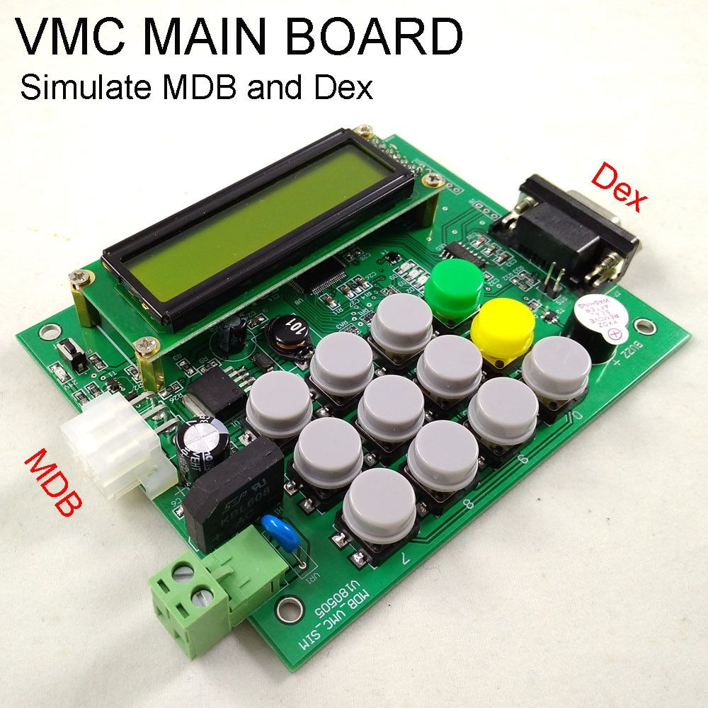 Automaten VMC simulator MDB protocal schnittstelle Dex schnittstelle