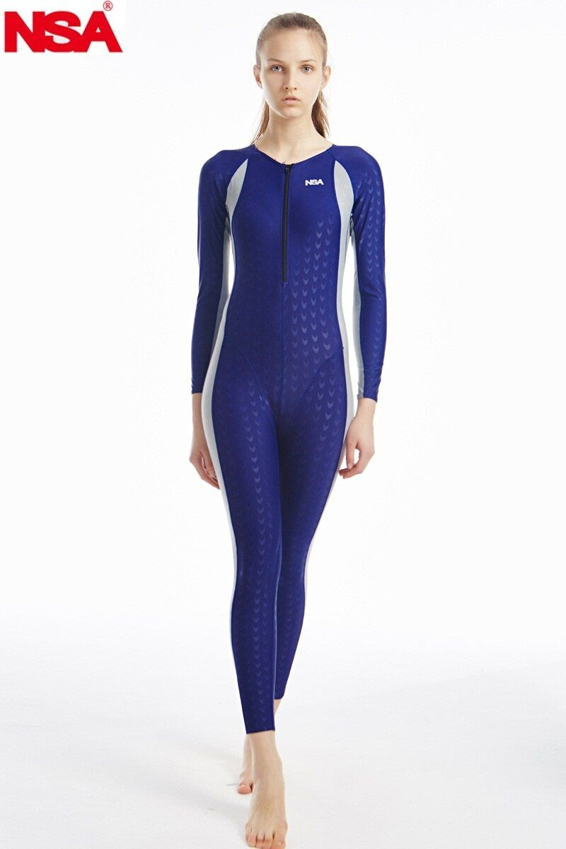 NSA einzigartiges design full body lycra bademode haifischhaut wasserdicht herren body schwimmen neoprenanzüge taucheranzug