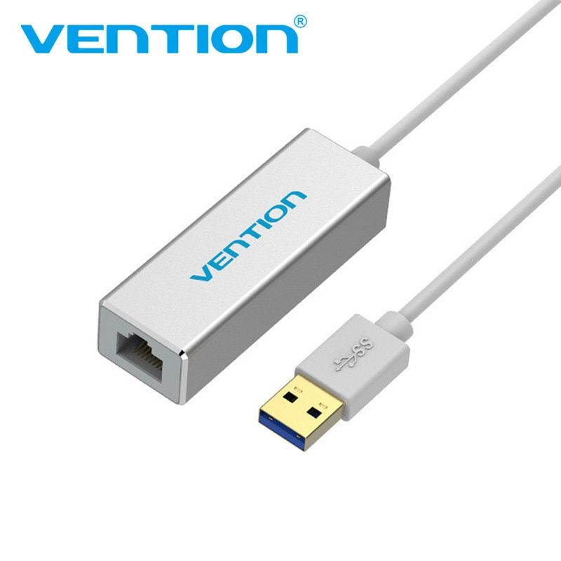 Convention USB Ethernet Adaptateur USB 3.0 2.0 Carte Réseau à RJ45 Lan 10/100/1000 Mbps pour Windowspc ordinateur portable Smart TV Ethernet USB