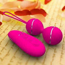 7 Скорость дистанционного Управление вагинальные шарики вагинальные упражнения на сжатие Вибрационный яйца вагинальные шарики «geisha Balls» в...