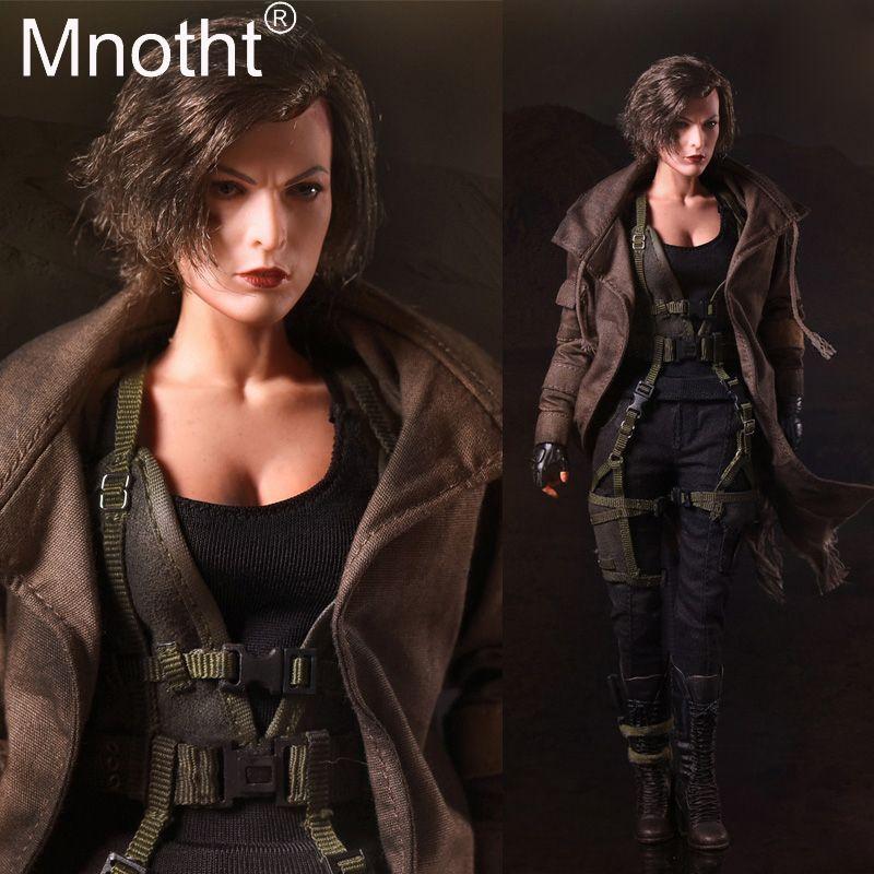1:6 skala SW ourworld FS009 Resident Evil Zombie Hunter Alice 1/6 Figure & Leiter Sculpt Körper Weste Mantel Modell Hobby sammlung spielzeug