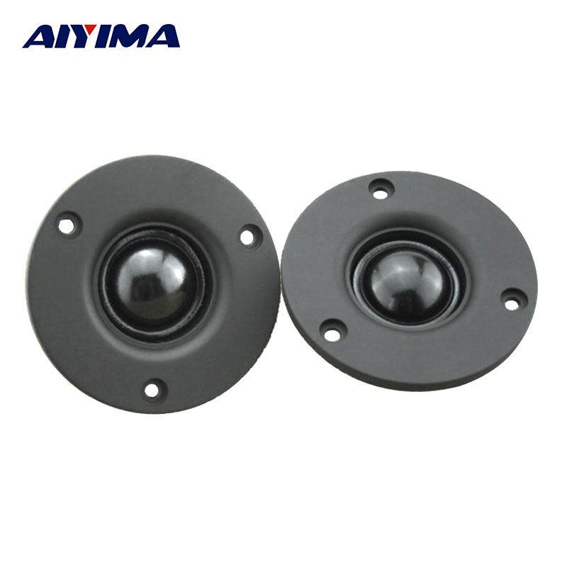 AIYIMA 2Pcs 3Inch Treble Speaker Tweeter Audio Loudspeakers Hifi Fever 4Ohm 20W Portable Speaker
