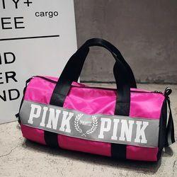 2018 Woman Travel Messenger Bag  Cute Pink Ms. Business Bags Beach Shoulder Bags Large-capacity secret Shopping Bags