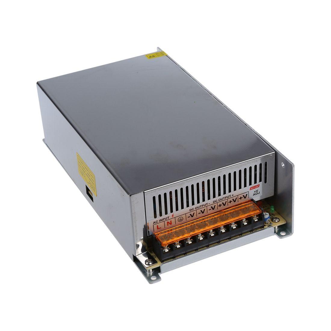 DC 12 v 50A 600 watt Schalt Netzteil Transformator für LED Streifen Licht 110/220 v